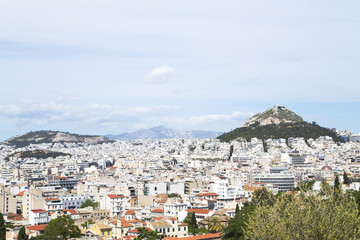 View of Athens from Acropolis