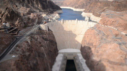 View of the Hoover Dam Daytime