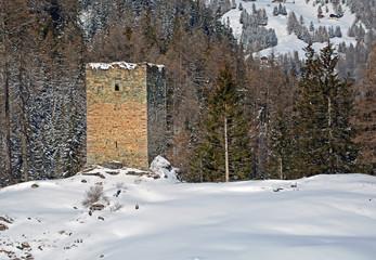 Burg Spliatsch, Sur, Graubünden