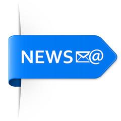 Long blue arrow sticker – NEWS