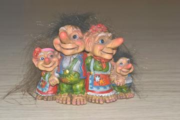 семья гномов