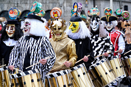 Fotobehang Carnaval Basler Fasnacht 2015