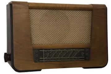 Old retro radio