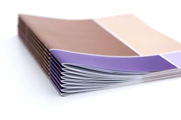 Broschüren aus der Druckerei