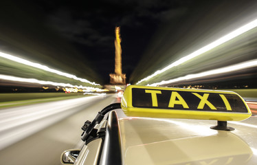 taxi driving in berlin