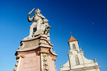 Statue Herzog Eberhard Ludwig in Ludwigsburg