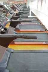 Set of treadmills