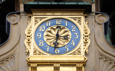 Glockenspiel clock in Graz, Styria, Austria