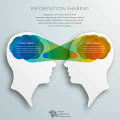 Information Sharing #Vector Graphic