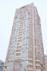 City high-rise building