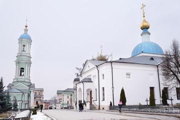 Vvedensky stavropegic monastery. Monastery Of Optina Pustyn