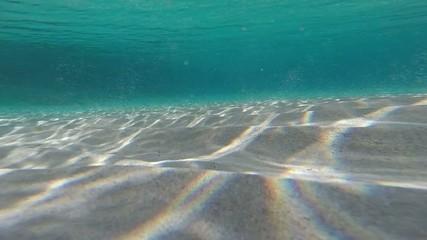 underwater sand