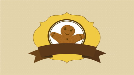 Happy cookie, Video Animation. HD 1080