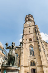 Collegiate Church in Stuttgart, Germany