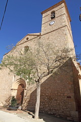 Parish church,La Morera del Montsant village, Tarragona province