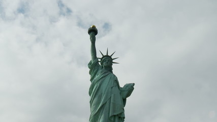 Statue of Liberty in New York - Time Lapse