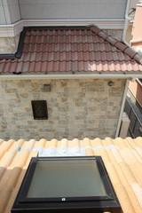 戸建て住宅の天窓 屋外より 施工例