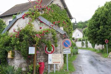 [パリ近郊観光名所]クロード モネの家 ジヴェルニーのある村