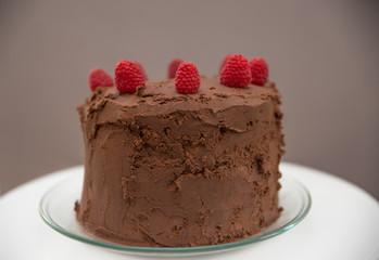 Schokolade Himbeer Torte