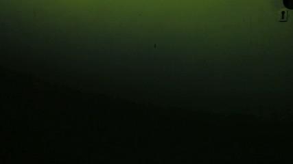 wall Old green lantern lit at night wallpaper screensaver