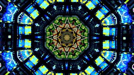 kaleidoscope of Colors VJ Loop