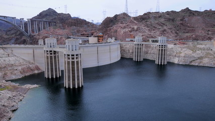 Time Lapse of Hoover Dam