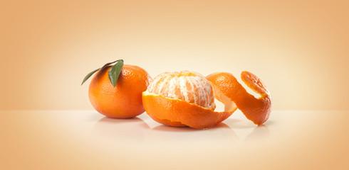 Oranges fruit and orange wedge