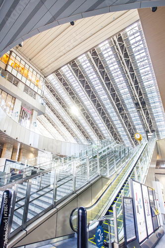 Fotobehang Treinstation 大阪駅