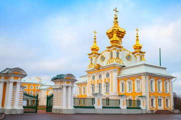 Church of Saints Peter and Paul in Peterhof