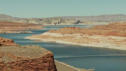 Time Lapse of Desert River