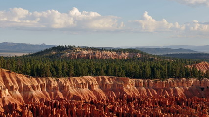Time Lapse of Clouds passing over Bryce Canyon