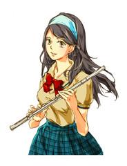 学園生活-女の子(吹奏楽)