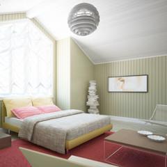 Dachboden-Ausbau (Detail)