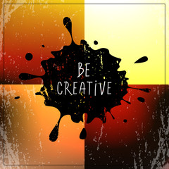 be creative quote, type
