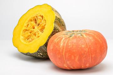 half of pumpkin