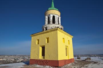 Башня на Лисьей (Лысой) горе. Нижний Тагил