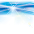 Abstract virtual blue light background.