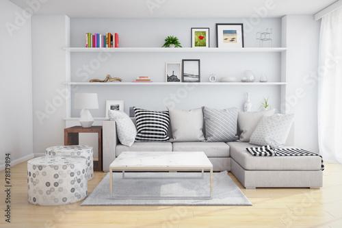 Zdjęcia na płótnie, fototapety, obrazy : living room