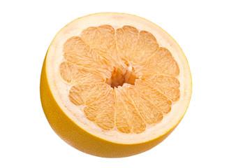 Pomelo citrus fruit part