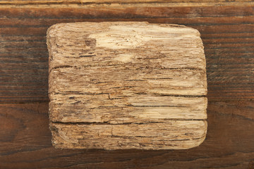 Wooden background old signboard
