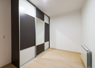 Wardrobe in room