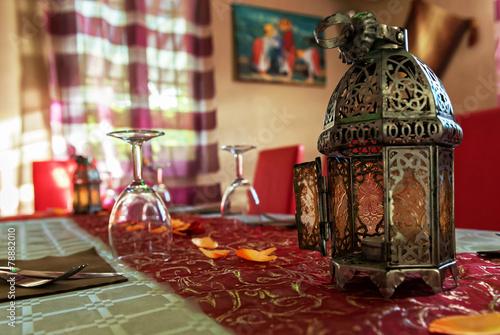 Papiers peints Maroc Lanterne Marocaine