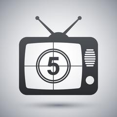 Vector TV icon
