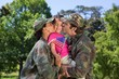 Army parents reunited with their daughter - 78883434