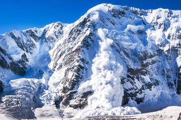 Avalanche in the Caucasus