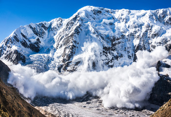 Avalanche in the Caucasus