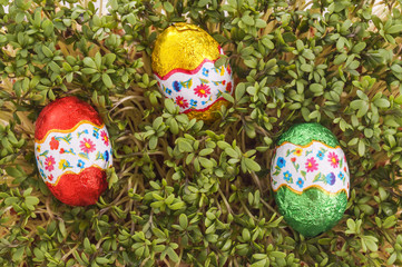 Easter egg ready to be found