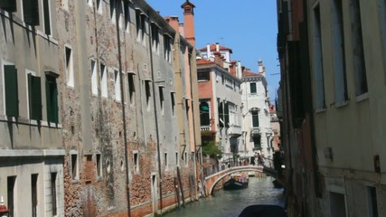 Small canal in Venice. Italy
