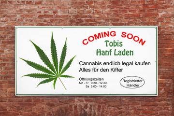 Cannabis Kampagne / Legalisierung / legal kiffen