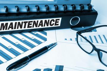 maintenance label on folder